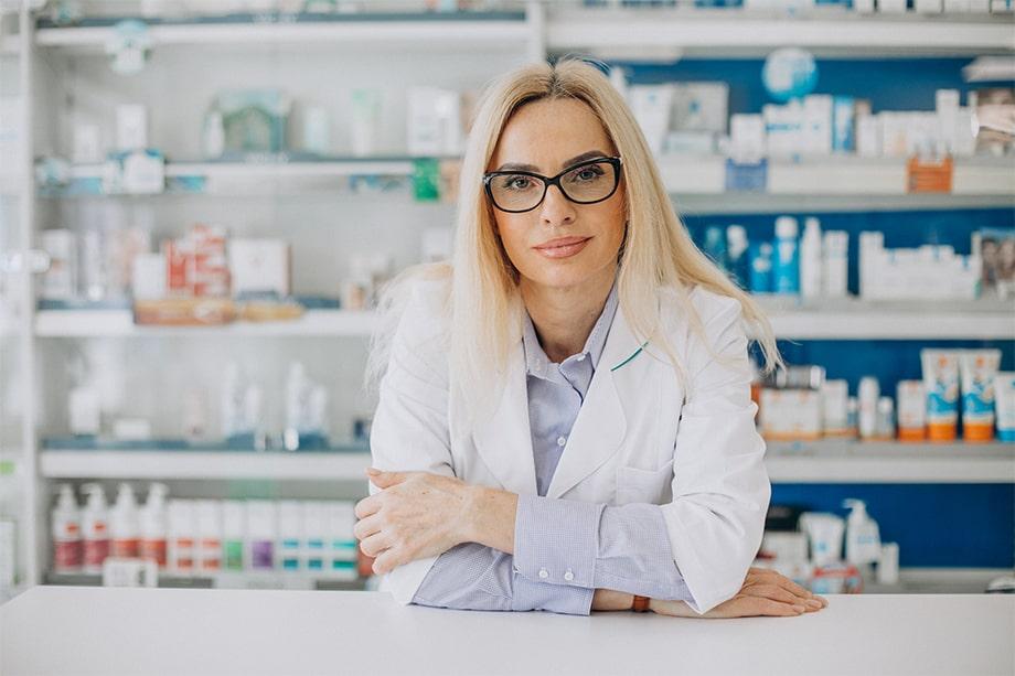 Arredamento farmacia funzionale